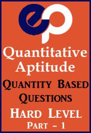 Quantitative Aptitude PDF | Free Download PDF