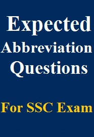 expected-abbreviation-questions-for-ssc-exam
